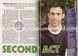 Interview with Blake Berris (Nick Fallon on Days Of Our Lives)