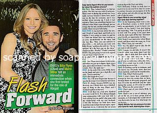 Interview with Marci Miller and Billy Flynn (Abigail and Chad on Days Of Our Lives)