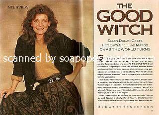 Interview with Ellen Dolan (Margo Hughes on As The World Turns)