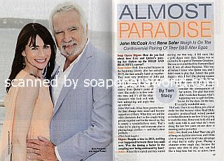 Interview with Rena Sofer & John McCook (Quinn and Eric on The Bold and The Beautiful)
