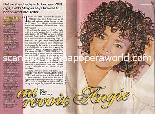 Interview with Debbi Morgan (Angie Hubbard on All My Children)