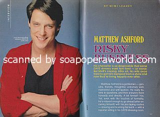 Interview with Matthew Ashford (Jack Deveraux/Billy Johnson on Days Of Our Lives)