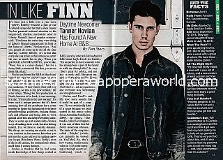 Interview with Tanner Novlan of The Bold and The Beautiful