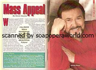 Joseph Mascolo played the role of Massimo Marone on The Bold & The Beautiful
