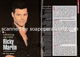 Interview with Ricky Martin (ex-Miguel Morez on General Hospital)