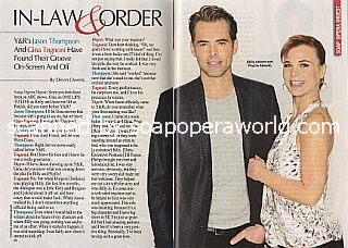 Interview with Jason Thompson & Gina Tognoni (Billy and Phyllis on Y&R)