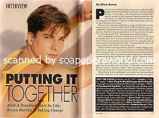 Interview with Bryan Dattilo (Lucas Roberts on Days Of Our Lives)