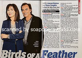 Interview with Lauren Koslow and Thaao Penghlis (Kate and Andre on Days Of Our Lives)