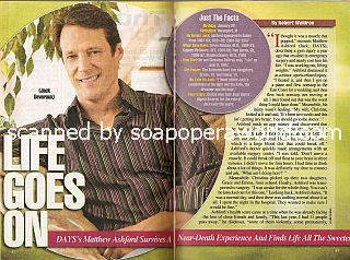 Interview with Matthew Ashford (Jack Deveraux on Days Of Our Lives)