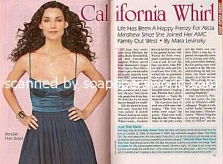 Interview with Alicia Minshew (Kendall, AMC)