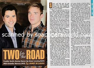 Interview with Chandler Massey and Freddie Smith (Will and Sonny on Days Of Our Lives)