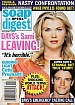 10-9-07 Soap Opera Digest ALISON SWEENEY-JAMES SCOTT
