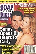 11-28-00 Soap Opera Digest MAURICE BENARD-SARAH BROWN