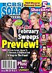 2-9-15 CBS Soaps In Depth DON DIAMONT-KATHERINE KELLY LANG