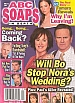 3-29-05 ABC Soaps In Depth RICK HEARST-NANCY LEE GRAHN