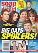 9-18-17 Soap Opera Digest BILLY FLYNN-MARCI MILLER