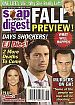 9-4-07 Soap Opera Digest JAMES SCOTT-FALL PREVIEW