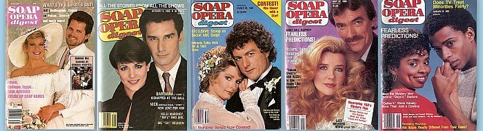 Back Issues of Soap Opera Digest from 1980 thru 1989