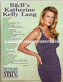 Katherine Kelly Lang (Brooke, B&B)