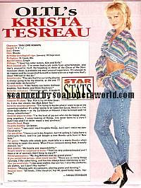 Krista Tesreau played the role of Tina on OLTL