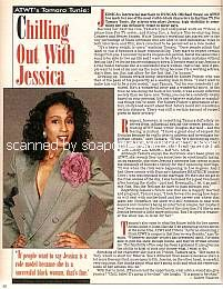 Interview with Tamara Tunie (Jessica on As The World Turns)