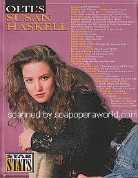 Susan Haskell of One Life To Live