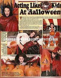 Acting Like Kids Again At Halloween