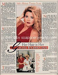 Interview with Melody Thomas Scott of The Young & The Restless