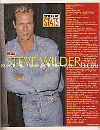 Star Stats with Steve Wilder (Jack Deveraux on Days Of Our Lives)