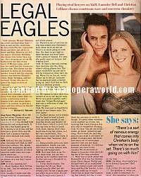 Christian LeBlanc & Lauralee Bell (Michael & Christine, Y&R)