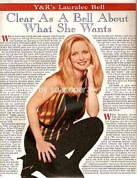 Interview with Lauralee Bell (Cricket on The Young & The Restless)