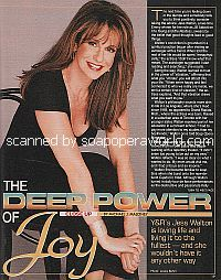 Interview with Jess Walton (Jill on The Young & The Restless)