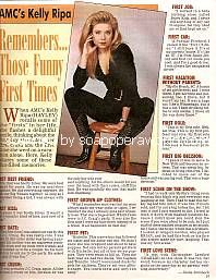 Interview with Kelly Ripa (Hayley on All My Children)