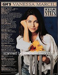 Star Stats with Vanessa Marcil of General Hospital