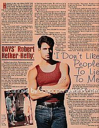 Interview with Robert Kelker-Kelly of Days Of Our Lives