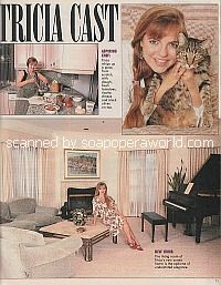Interview At Home With Tricia Cast (Nina on The Young and The Restless)