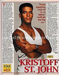 Star Of The Week - Kristoff St. John of Y&R