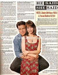 He Said, She Said with James DePaiva & Susan Batten (Max and Luna on One Life To Live)