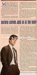 Interview with Matthew Ashford (Tom on General Hospital)