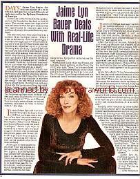 Interview with Jaime Lyn Bauer (Laura on Days Of Our Lives)