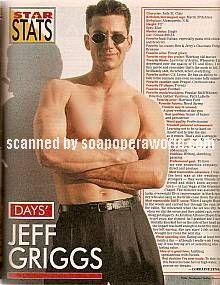Jeff Griggs (Jude St. Clair, DAYS)