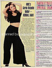 Interview with Sarah Michelle Gellar (Kendall on All My Chldren)