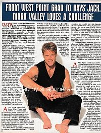 Interview with Mark Valley (Jack Deveraux on Days Of Our Lives)