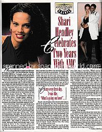 Interview with Shari Headley of All My Children