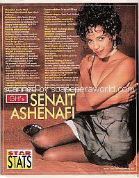 Star Stats with Senait Ashenafi (Keesha Ward on General Hospital)