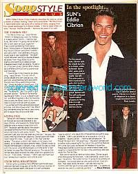 Eddie Cibrian played the role of Cole on Sunset Beach