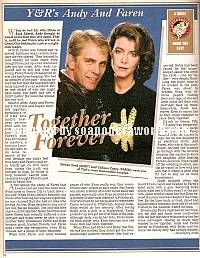 Steven Ford & Colleen Casey (Andy & Faren, Y&R)