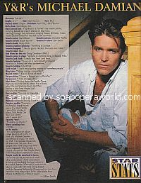 Star Stats with Michael Damian of The Young & The Restless