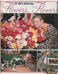 Flower Show Pictorial with Sharon Case of As The World Turns