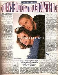 Elaine Princi & Mark Brettschneider (Dorian & Jason, OLTL)
